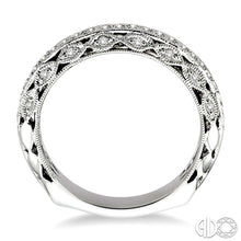 1/4 Ctw Diamond Matching Wedding Band in 14K White Gold ASHI Style New #26426FRW-WB