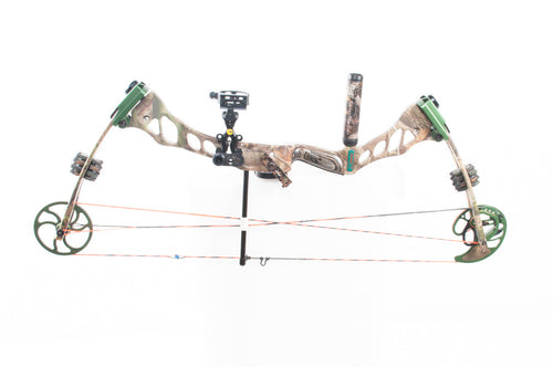 Fred Bear Instinct, RH Compound Bow, this is Pre-Owned Item #319194.sa