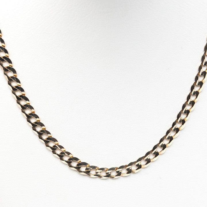 "22.5 GRAMS IN 10KY 28"" UNISEX  CHAIN, this is  Pre-Owned Item #321781"