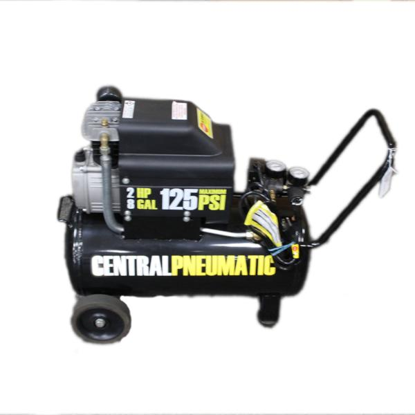 Central Pneumatic 2 HP, 8 Gallon Air Compressor #335009