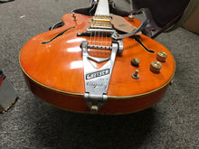 Gretsch 6120 Chet Atkins Nashville  1969 orange  PLEK'D SERVICED w/ case, this is Pre-Owned Item #339419A.SC