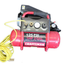Craftsman 2 Gallon Air Compressor 1HP 125 Psi Max #338927