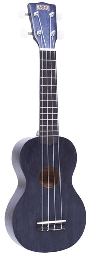 Mahalo Kahiko Plus Series Ukulele, Trans Black with Bag New item #MK1PTBK