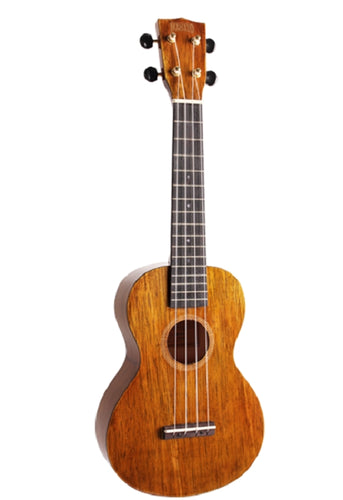 Mahalo Hano Wide Neck Concert Uke  Natural, New #MH2WVNA
