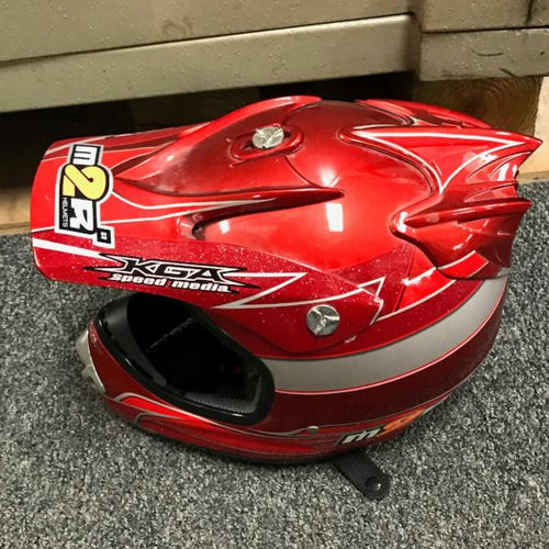 M2R KGA Speed Media Helmet , pre-owned item #351090