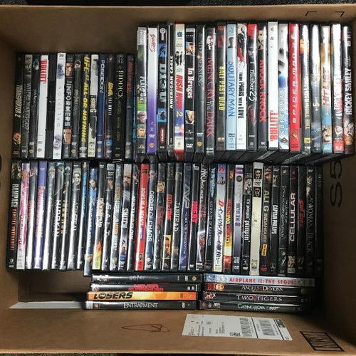 WHOLESALE LOT 100 DVD Variety Action Movies - wholesale Set, Good cond, w/List, this is Pre-Owned Item #100DVD