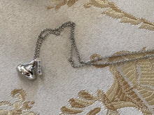 "Hershey's Kisses  ""#1 Mom"" Pendant  STERLING SILVER Necklace in original Box NEW #1 Mom"