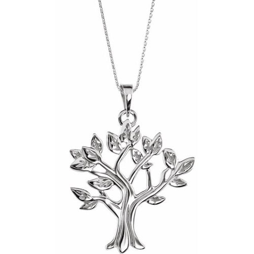 Sterling Silver My Tree™ Family 16-18