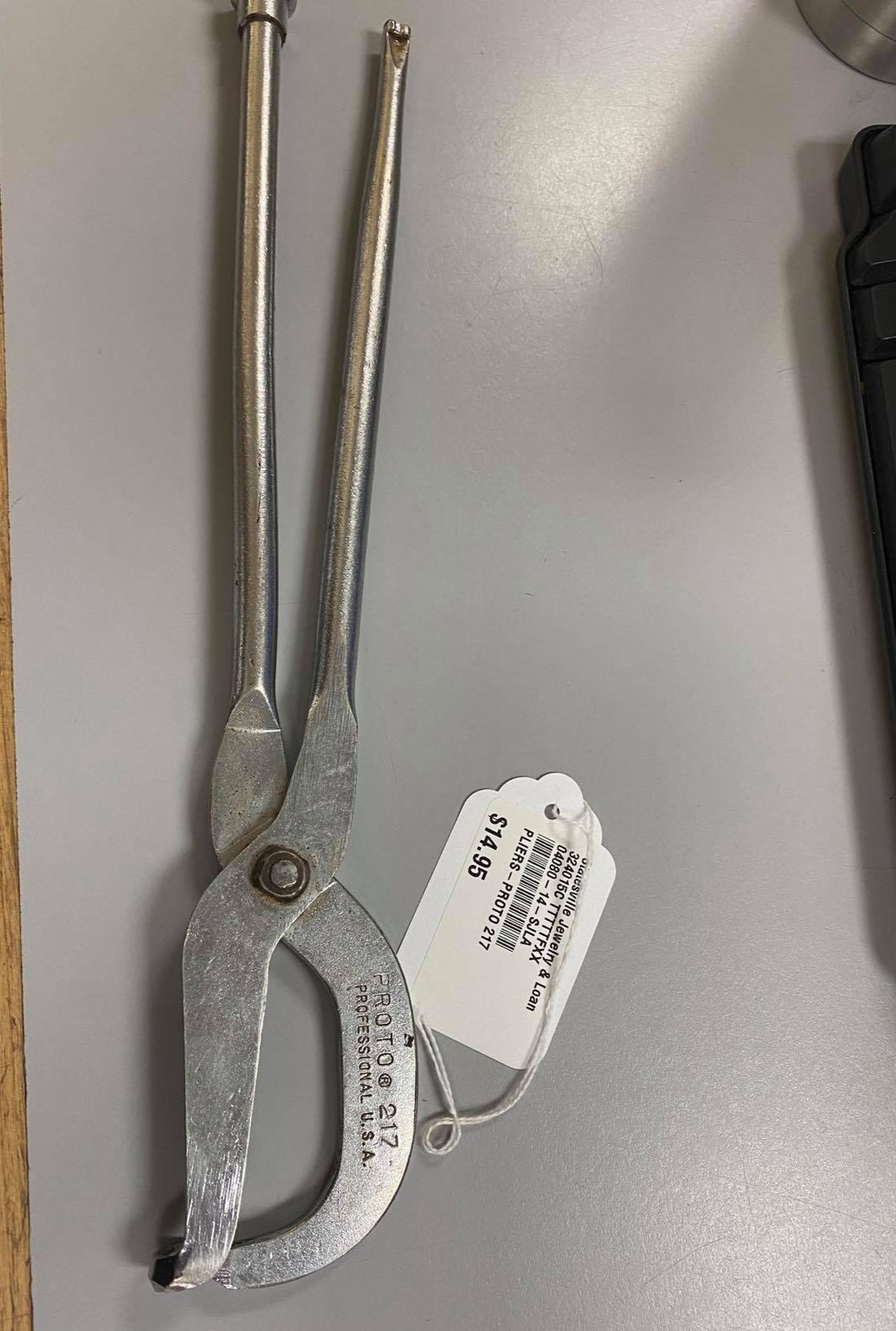 Proto Professional 217 Drum Brake Spring Pliers - USA, Pre-owned item #324015c
