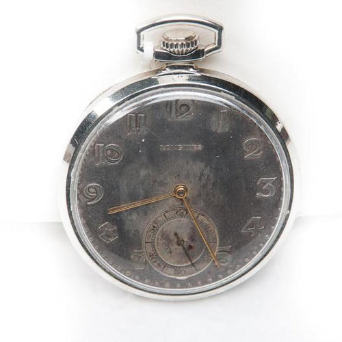 LONGINES-SWISS POCKET WATCH, this is Pre-Owned Item #320154C