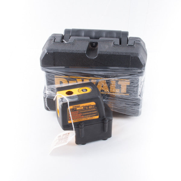 DEWALT DW084 LAZER POINTER, this is Pre-Owned Item #T9211