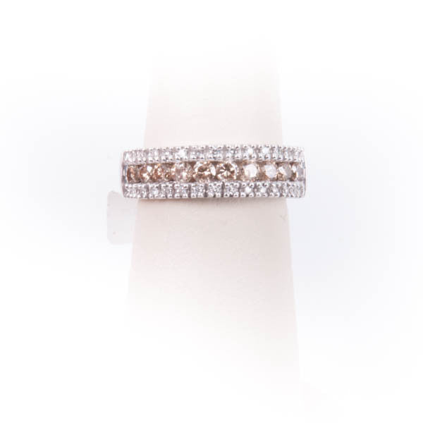 .76 CTW LADIES CHOCOLATE DIAMOND RING IN 14KW New #V35327.SA