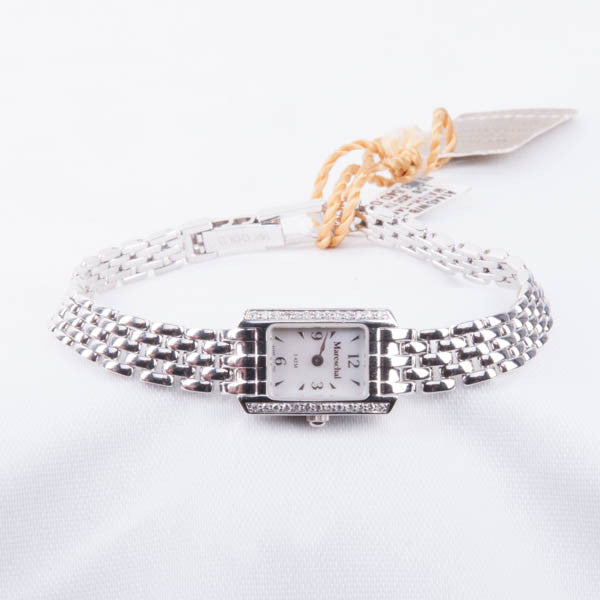 14KW  .20CTW DIAMONDS LADIES WATCH Pre-Owned #A1445W/B