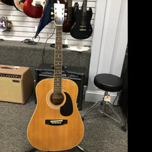 Vintage Harmony H 166 1970's Natural Acoustic Guitar, Pre-owned item #Gibson