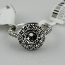 1.20CTW Diamond Semi-Mount Engagement Ring in 14K White Gold, New item #V48891