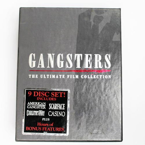 Gangsters - The Ultimate Film Collection, this is Pre-Owned Item #327531A