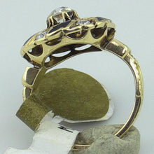 Ladies 14KY Gold 0.60 ct. tw. Diamond Swirl Flower Ring, Sz 4.5- 4.75, this is New Item #v18913