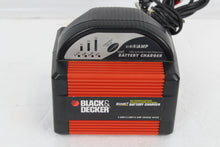 Black & Decker Smart Battery Charger 6 AMP/4AMP/2AMP Charger Rates 12v, this is Pre-Owned Item #347598A