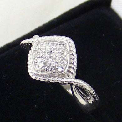 Ladies Sterling Silver Diamond Ring #LVR481-DI