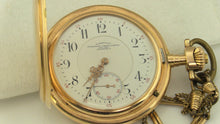 Glashütter Präzisions-Uhren-Fabrik A.G 14K Gold Pocket Watch, this is Pre-Owned Item #277768A