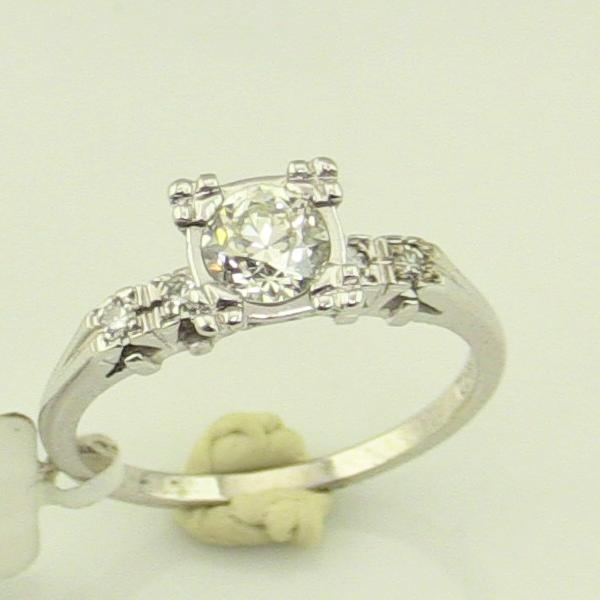 14 KW Gold 0.83CT 2.05CT Diamond Ladies Ring Pre-Owned #300737A