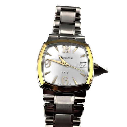 Mareschal A4780 18K Yellow Gold and Stainless Steel Watch