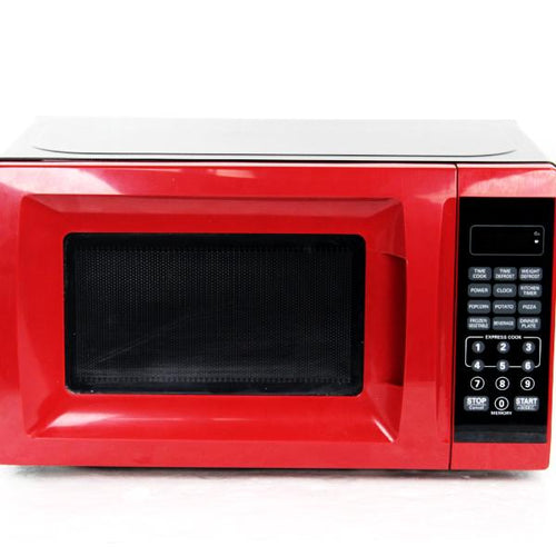 Mainstays 700W Output Microwave Oven Red #347762