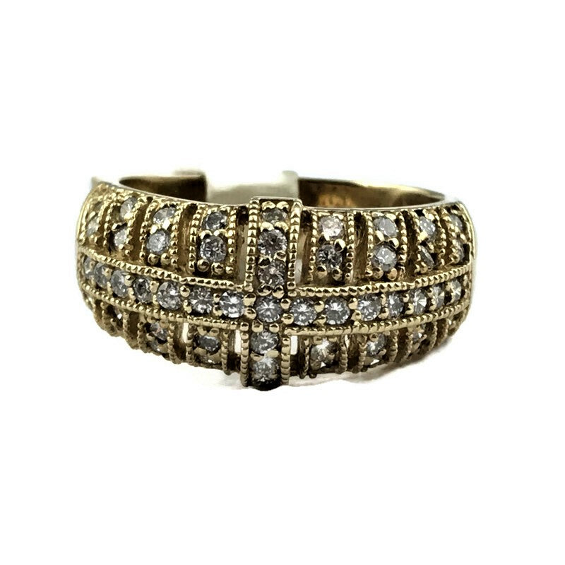 .65CT Diamond Band Ring in 14K Yellow Gold
