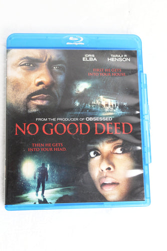 No Good Deed Blu-ray DVD, this is Pre-Owned Item #347645