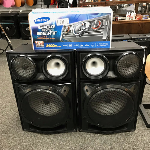 3400W Giga Sound System MX-HS9000, Like New #345453a