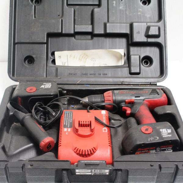 Snap on CDR4850 18V Power Drill, pre-owned item #309629a.sc