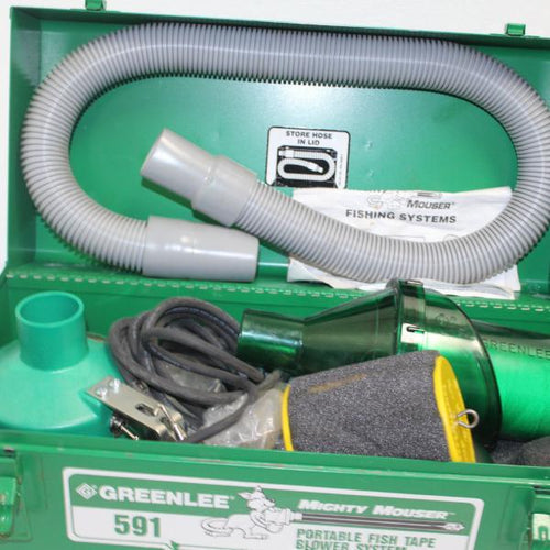 Greenlee 591 Porta-Blower Power Fishing System, pre-owned item #352898.sc