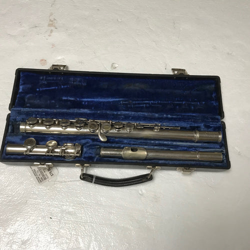 Henri La Vella Flute with Case, Pre-owned item #348707b