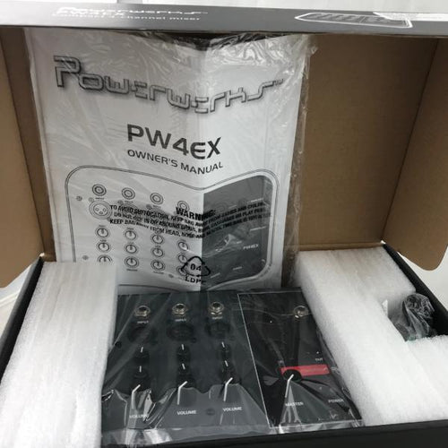 Powerwerks PW4EX 4 Channel Extension Mixer , new item #pw4ex