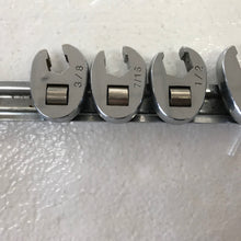 8 Pc. Metric Crowfoot Wrench Set, Pre-Owned item #306974c
