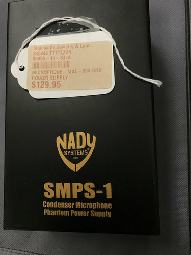 Nady SMPS-1 Condenser Microphone Phantom Power Supply, pre-owned item #305842
