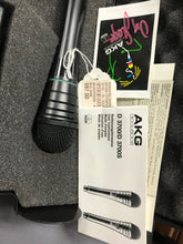 AKG D3700 TPS Hypercardioid Dynamic Microphone in Black Case, pre-owned item #201304
