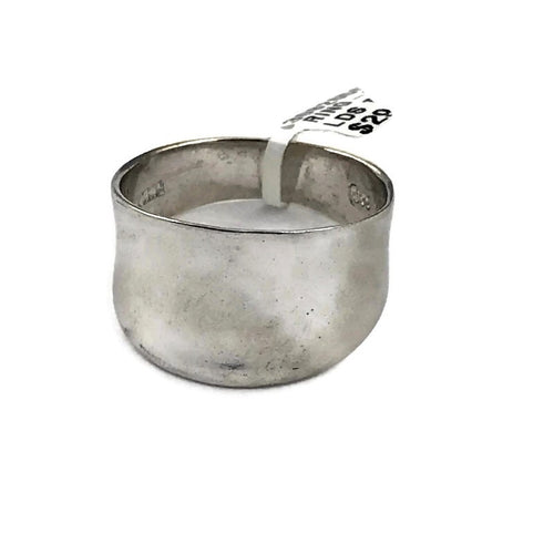 Ladies Sterling Silver Ring Size 9, Pre-owned item #308265C