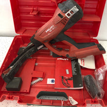 Hilti GX120 Gas Powered Fully Automatic Fastener Nail Gun, Pre-owned item #337015