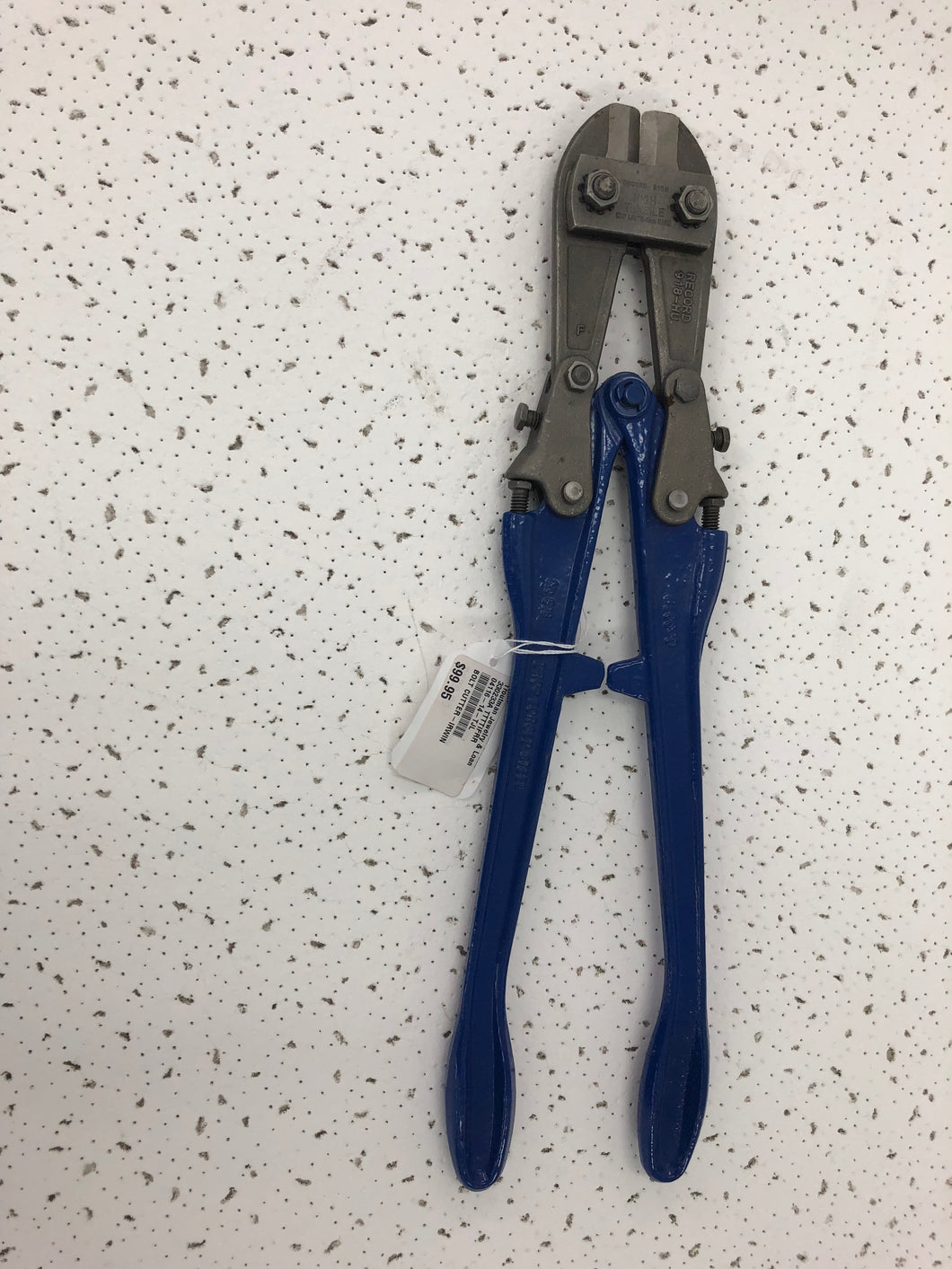 Irwin Record 918h High Tensile Bolt Cutters, Pre-owned item #330233A