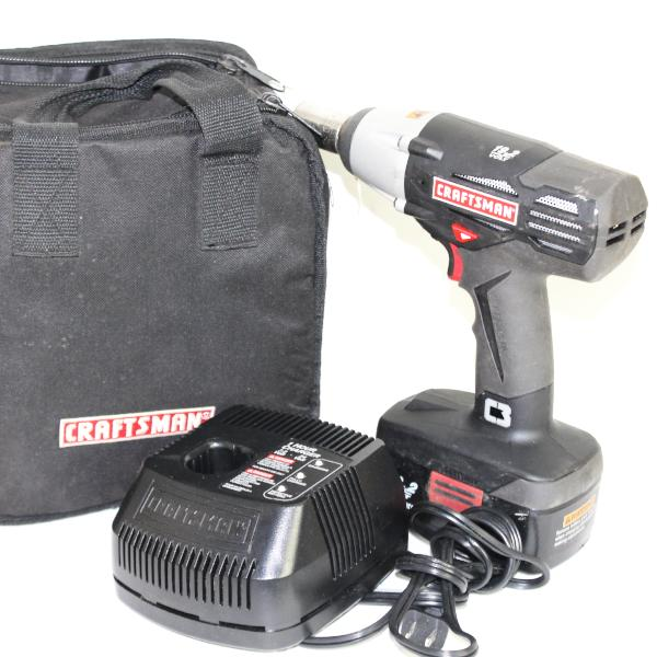 Craftsman C3 Heavy Duty 19.2-Volt 1/2-Inch Reversible Cordless Impact Wrench #340257