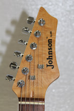 Johnson Strat Copy Guitar w/Hard Case, this is pre-owned item #342747B