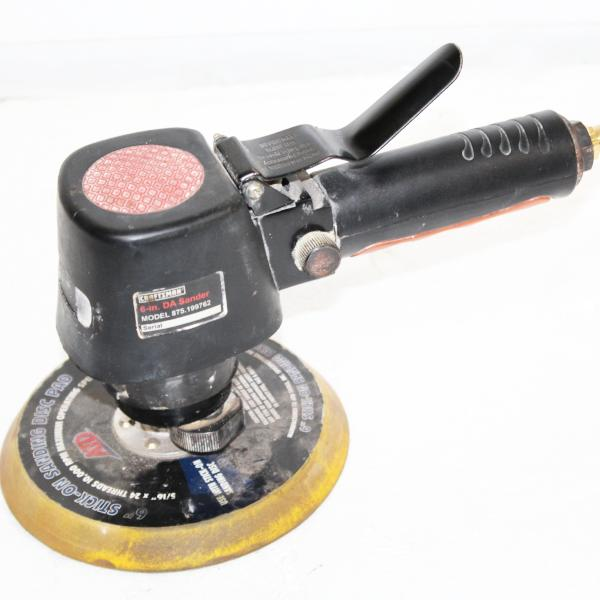 Craftsman Pneumatic Dual Action Sander Model 875.199762, this is pre-owned item #328279B