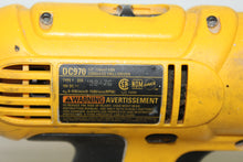 "Dewalt DC970 18V 1/2"" Cordless Drill Driver, this is pre-owned item #341064"