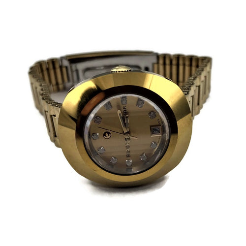 RADO DIASTAR GOLD TONE Stainless Steel Watch 561.0316.3