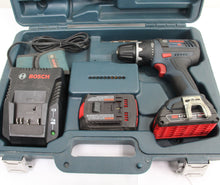 Bosch DDS181 1/2'' Drill/ Driver w/ Batteries+Charger+Case #333178