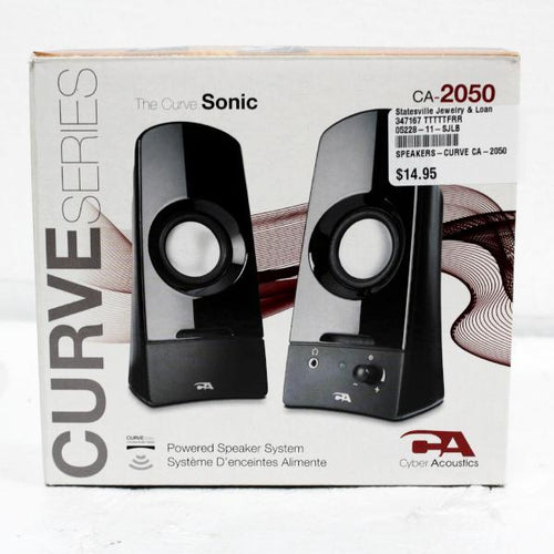 Cyber Acoustics Curve CA-2050 speakers #347167
