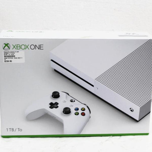 Xbox One S 1TB Console Game System #347852a
