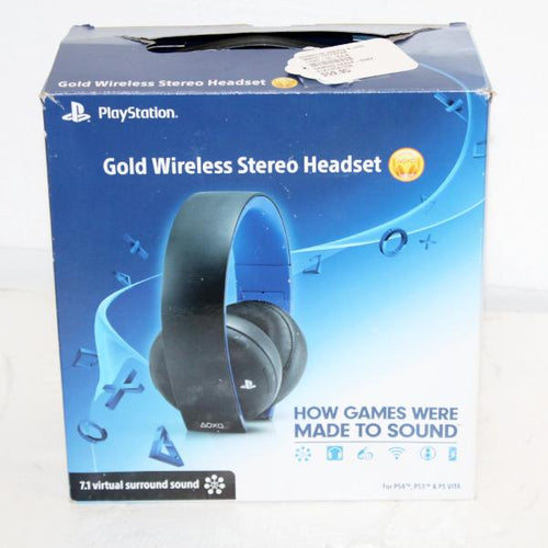 PlayStation Gold Wireless Stereo Headset #342631