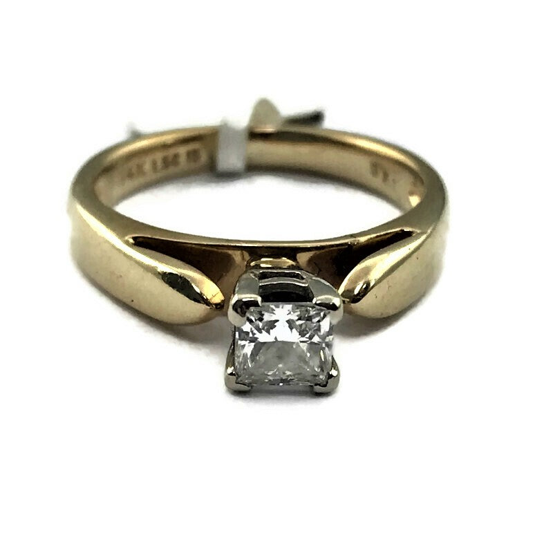 .40CT Diamond Ladies Engagement Solitaire Ring in 14K Yellow Gold
